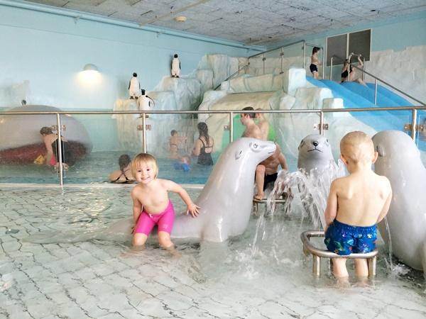 äventyrsbad, pool, Idre Fjäll