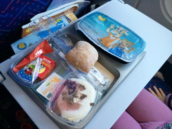 barn, flyg, mat