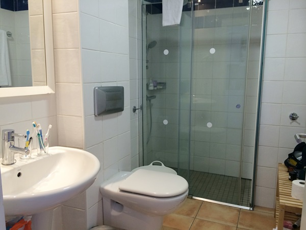 badrum, hotell, kanarieöarna