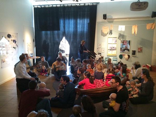 allsång, sångstund, barn, kulturhuset, stockholm